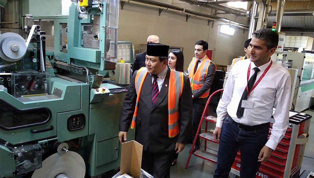 Indonesian ambassador visits Cahan Tobacco International