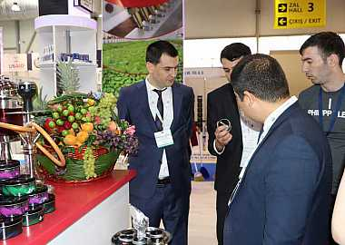 CTI @ Azerbaijan International Food Industry Exhibition