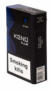 Keno Club Blue King Size
