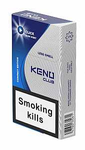 Keno Club Click Gum Mint Queen Size
