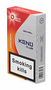 Keno Club Click Orange Queen Size