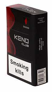 Keno Club Red King Size